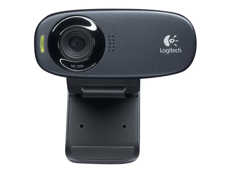 Logitech  - C310 Webcam Black USB 2.0