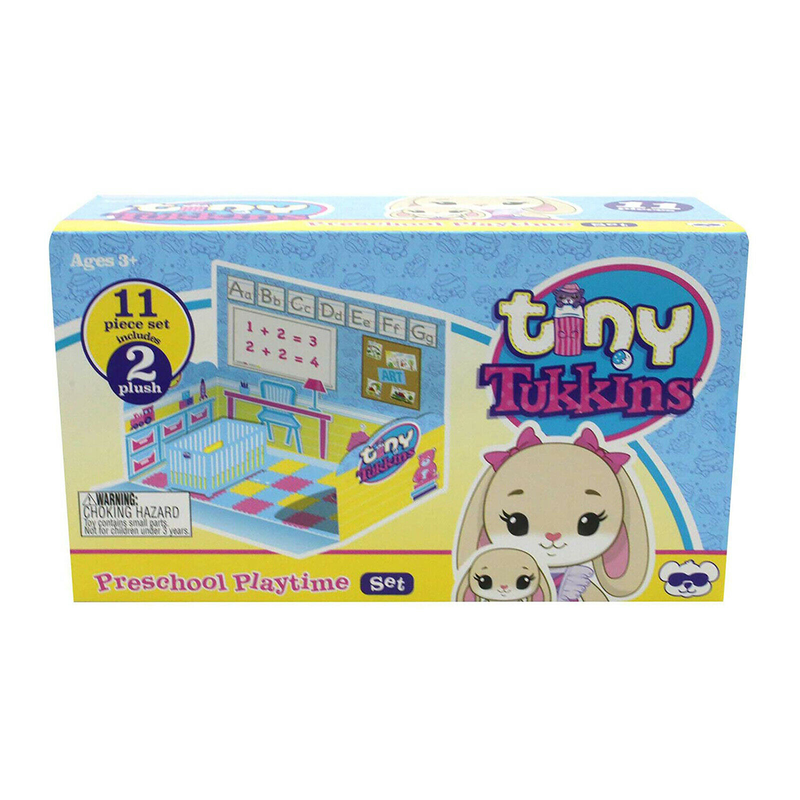 Tiny Tukkins - 11 pcs. Playset - Preschool Playtime, Beige