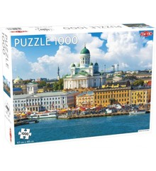 Tactic - Puzzle 1000 pc - View of Helsinki