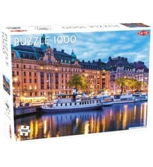 Tactic - Puzzle 1000 pc - View of Stockholm