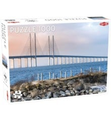 Tactic - Puzzle 1000 pc - Öresund Bridge
