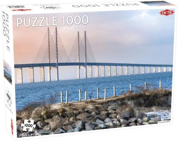 Tactic - Puzzle 1000 pc - Öresund Bridge