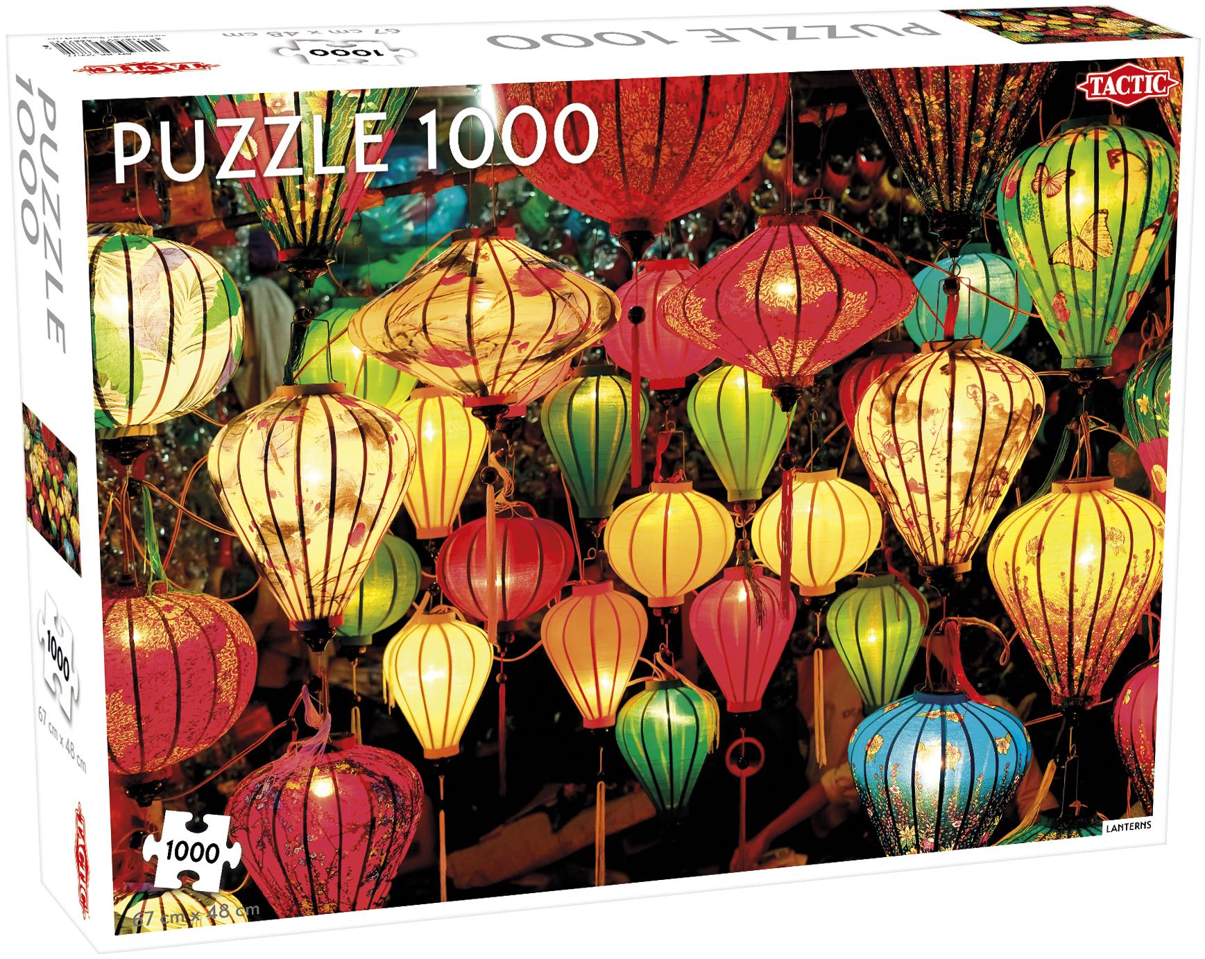 Tactic - Puzzle 1000 pc - Lanterns