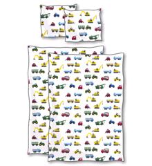 Sengetøj - Baby Str (70 x 100 cm) - Biler