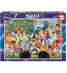Educa - Puslespil 1000 brikker - The Marvellous World Of Disney II (016297)