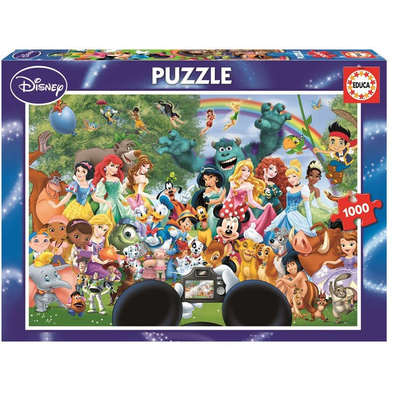 Educa - Puzzle 1000 - The Marvellous World Of Disney II (016297)