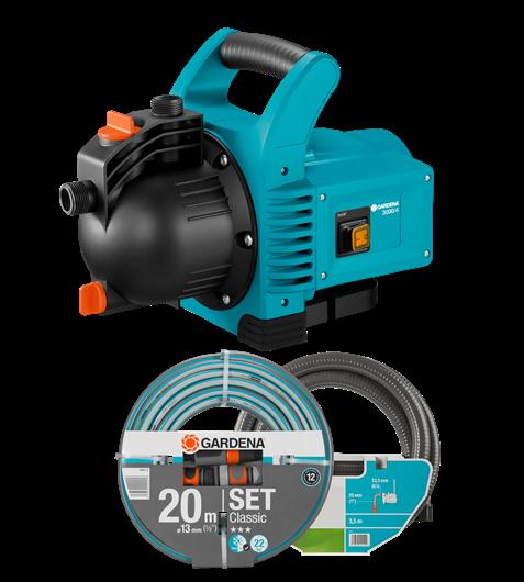 Gardena -  Garden Pump Set  3000/4