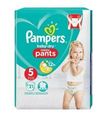 Pampers - Dry Nappy Pants Str. 5 - 12-17 kg