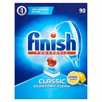 Finish - Powerball Classics Lemon 90 Pcs