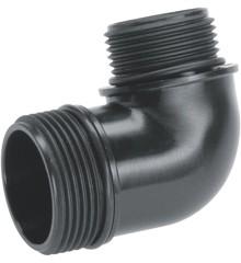 Gardena - Adaptador for evacuation pumps 33.3 mm g1 + 33.3 mm g1