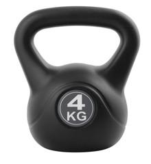 Inshape - Fitness Kettlebell 4 kg - Sort