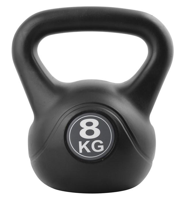Inshape - Fitness Kettlebell 8 kg - Black (17552)