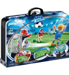 Playmobil - Stor bærbar fodboldarena (70244)