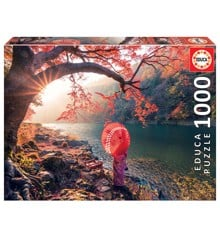Educa - Puzzle 1000 - Sunrise in katsuma River (018455)