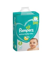 Pampers - Active Baby Dry Nappies Str. 3