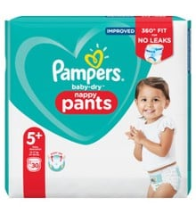 Pampers - Baby Dry Nappy Pants Str. 5+