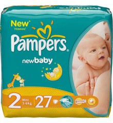 Pampers - New Baby Dry Diaper Str. 2