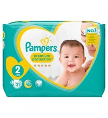 Pampers - Premium Care Baby Nappies Str. 2