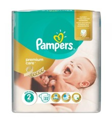 Pampers - Premium Care Nappies Str. 2