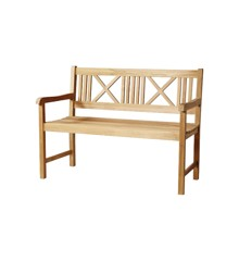 Cinas - Rosenborg Bench 120 cm - Teak Wood (4503000)
