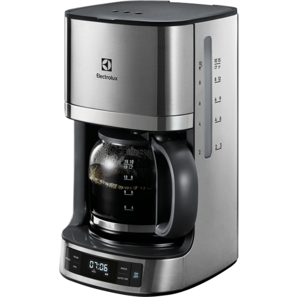 Electrolux - 7000 Series Coffee machine with timer - Steel