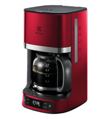 Electrolux - 7000 Series Coffee machine with timer - Red