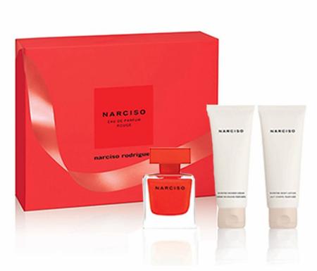 Narciso Rodriguez - Narciso Rouge EDP 50 ml + Body lotion 75 ml + Shower Cream 75 ml - Giftset