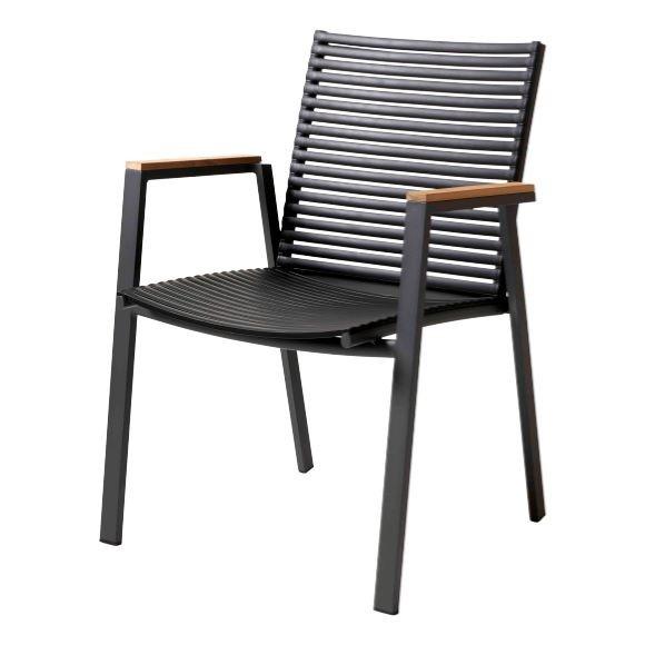 Cinas - Mood Extreme Arm Chair - Black (3627022)