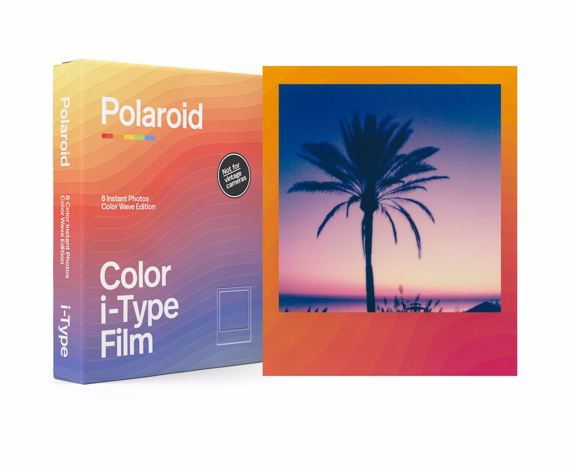 Polaroid - Color Film I-Type Color Waves Edition