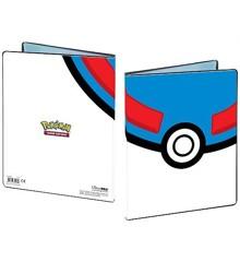 Pokemon: Great Ball Premium 4 Lommer - Mappe (Pokemon Kort Mappe)