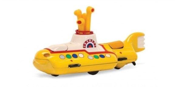 The Beatles - Yellow Submarine Die Cast