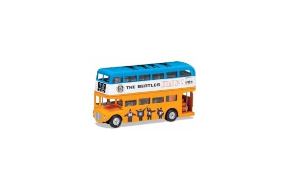 The Beatles - London Bus - 'Help!' Die Cast 1:64 Scale