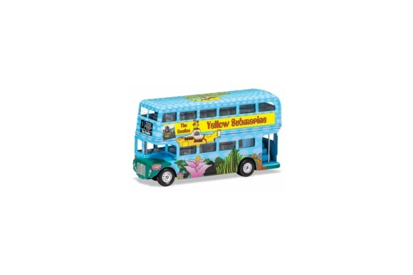 The Beatles - London Bus - 'Yellow Submarine' Die Cast 1:64 Scale