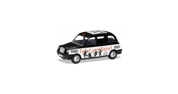 The Beatles - London Taxi - 'Twist And Shout' Die Cast 1:36 Scale