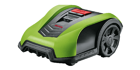 Bosch - Cover For Indego Robotic Lawn Mower - Yellow/Green