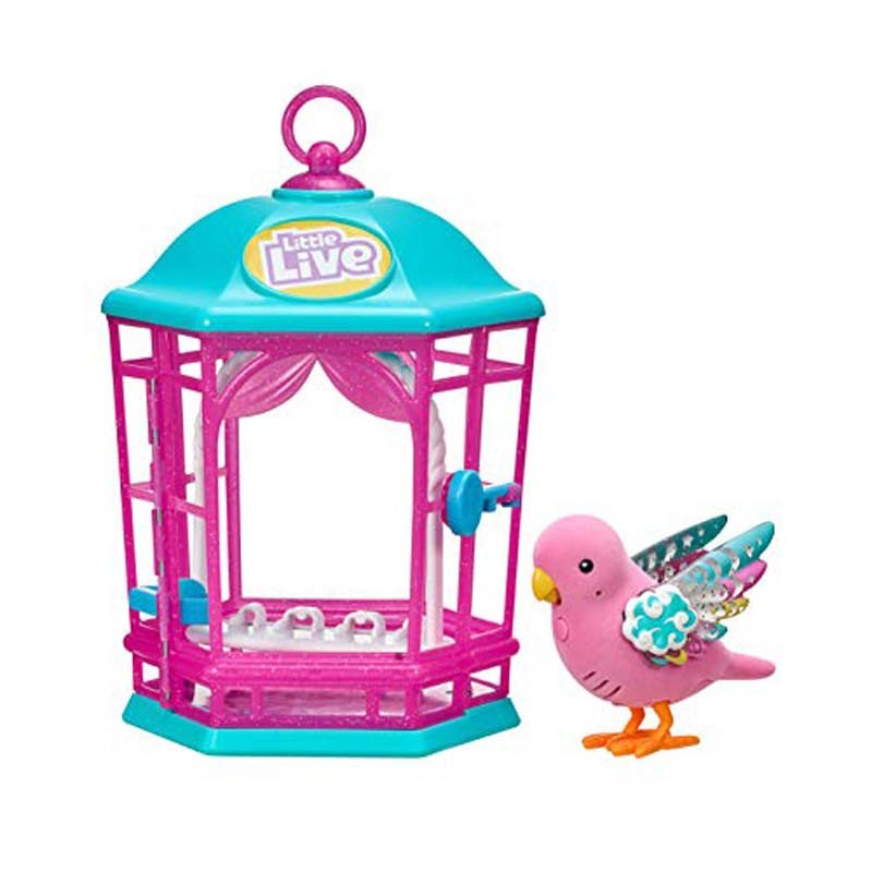 Little Live Pets - Bird S9 Cage -  Pink