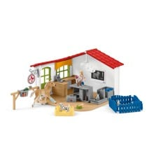 Schleich - Veterinarian practice with pets (42502)