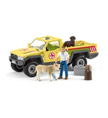 Schleich - Veterinarian visit at the farm (42503)
