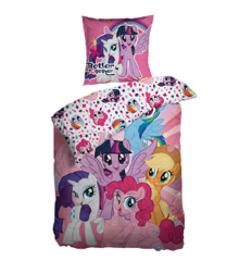 Sengetøj - Voksen str. 140 x 200 cm - My Little Pony