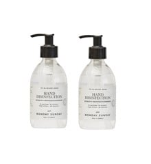 Monday Sunday - Hand Disinfection - Bright Water 2x300 ml