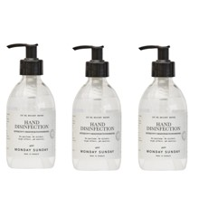 Monday Sunday - Hand Disinfection - Bright Water 3x300 ml