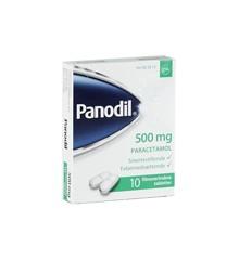 Panodil, 500 mg - 10 stk (005813)