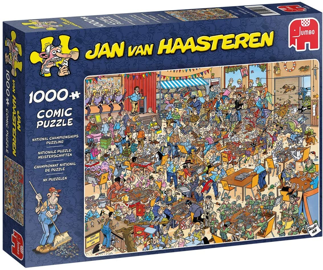 Jan Van Haasteren - National Championship,  1000 Piece Puzzle (19090)