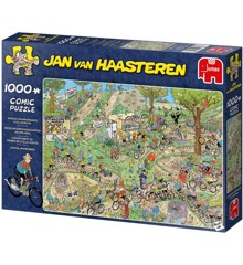 Jan Van Haasteren - WC Cycle Cross - Puslespil 1000 brikker (19174)