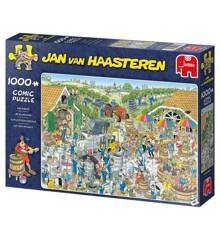 Jan Van Haasteren - The Winery,  1000 Piece Puzzle (19095)