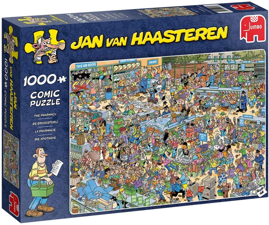 Jan Van Haasteren - Pharmacy,  1000 Piece Puzzle (19199)