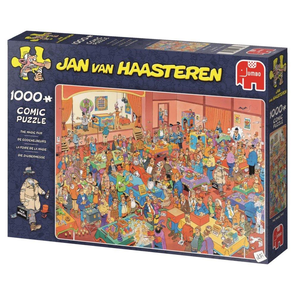 Jan Van Haasteren - Magic Fair - 1000 Piece Puzzle (19072)