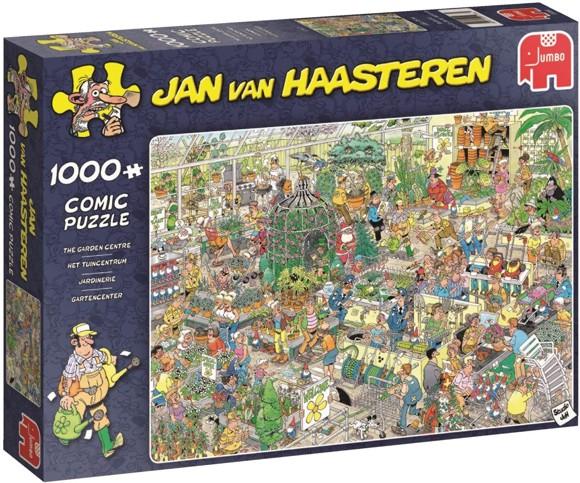 Jan Van Haasteren - Garden center ,  1000 Piece Puzzle (19066)