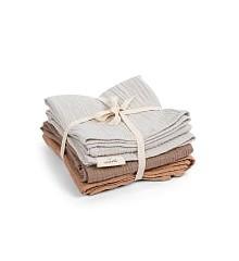 That's Mine - Muslin Cloths 3-pack - Beige/Brown/Golden Mist (MC100)
