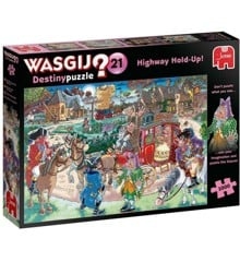 Wasgij Destiny  - Highway Hold-Up! #21, 1000 pc (19180)